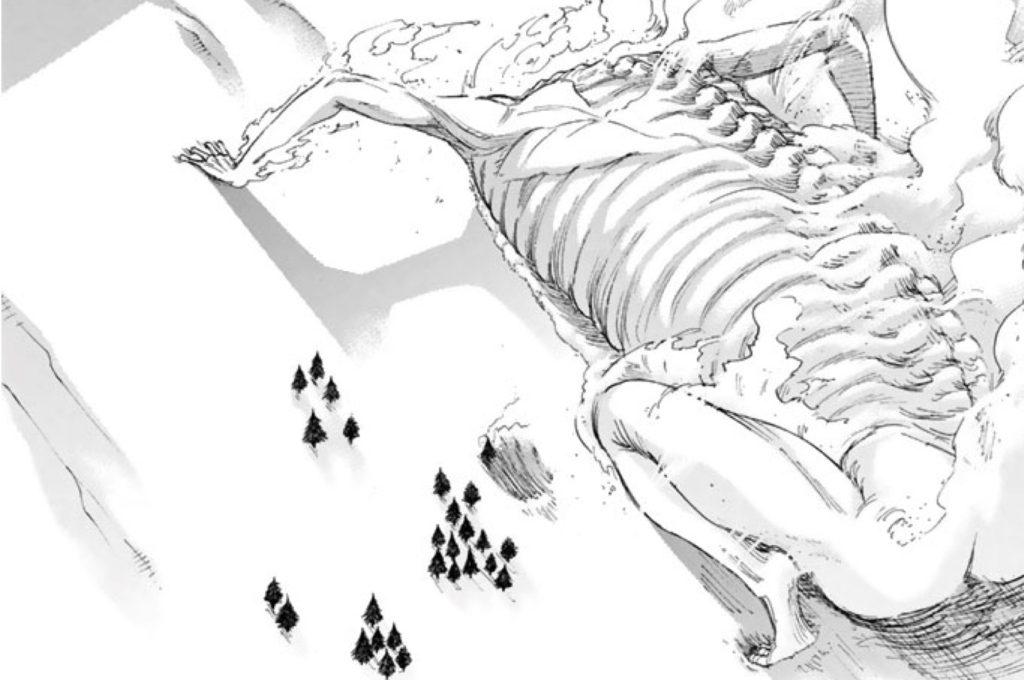 ロッド巨人が這い進む